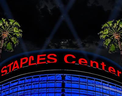 Staples Center - Downtown Los Angeles Art Print by Brian Yasumura Jr