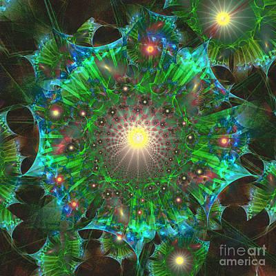 Digital Art - Star 9 by Ursula Freer