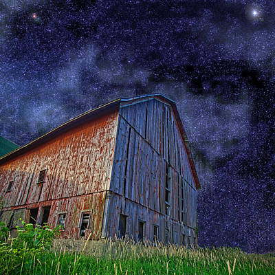 Photograph - Star Barn by John Crothers