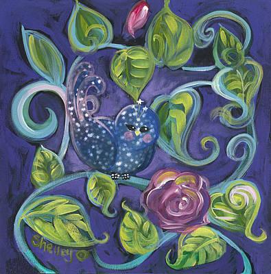 Star Birdy Art Print