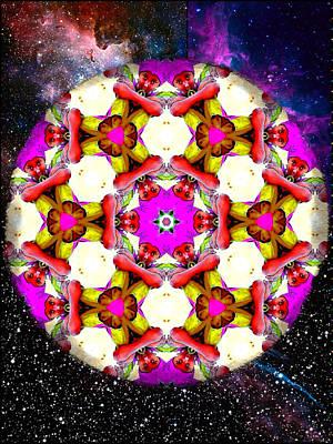 Digital Art - Star Child Mandala by Karen Buford