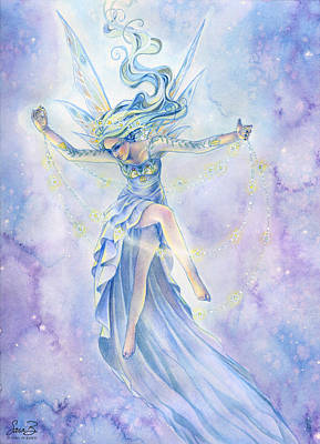 Painting - Star Dancer by Sara Burrier