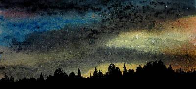Star Filled Sky Art Print by R Kyllo