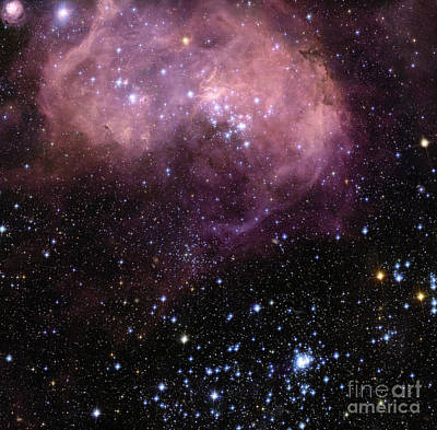Star Formation In The Lmc Art Print