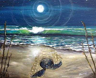 Painting - Star Gazer by Dawn Harrell