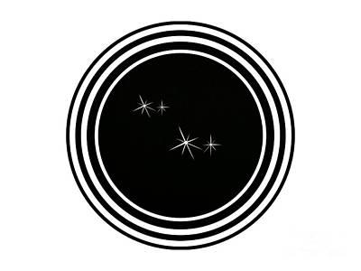 Digital Art - Star Gazing by Joan-Violet Stretch