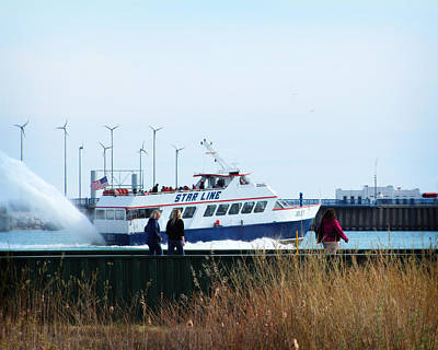 Photograph - Star Line Ferry by Scott Hovind
