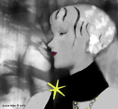 Photograph - Star Mannequin by Grace Dillon