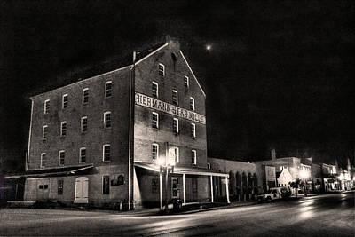 Star Mill Nocturne Original by William Fields