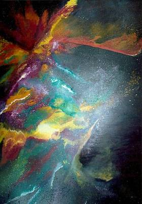 Painting - Star Nebula by Carrie Maurer
