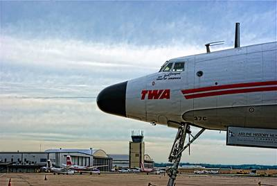 Photograph - Star Of America Lockheed Constellation 1049 Super G by Tim McCullough
