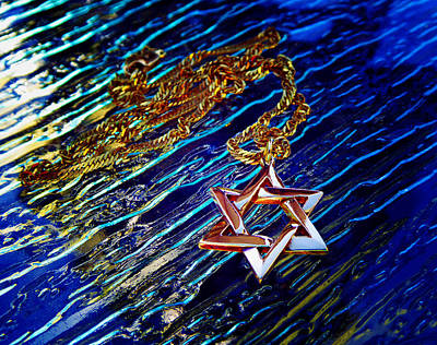 Photograph - Star Of David 2 by Laurie Tsemak