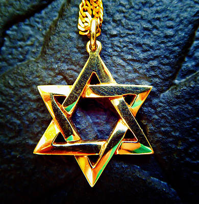 Photograph - Star Of David 3 by Laurie Tsemak
