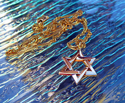 Photograph - Star Of David by Laurie Tsemak