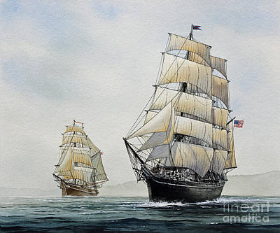Star Of India Art Print by James Williamson