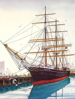 Star Of India Painting - Star  Of India by John YATO