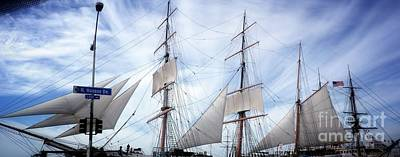 Photograph - Star Of India Sails by Susan Garren