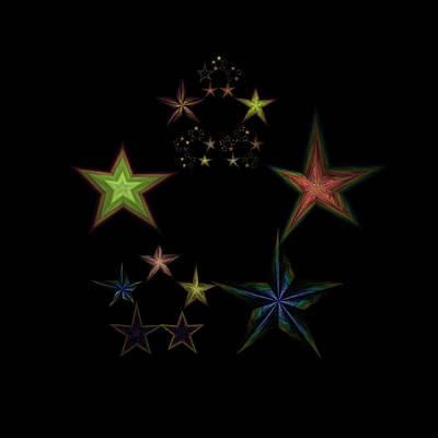 World Changing Digital Art - Star Of Stars 01 by Sora Neva