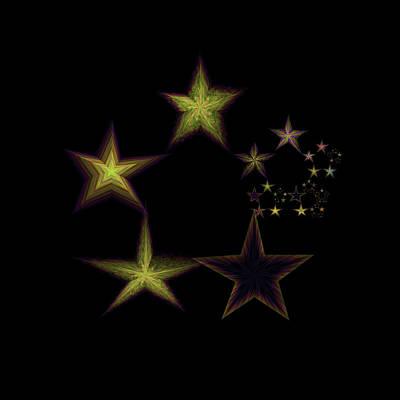 Star Of Stars 14 Art Print