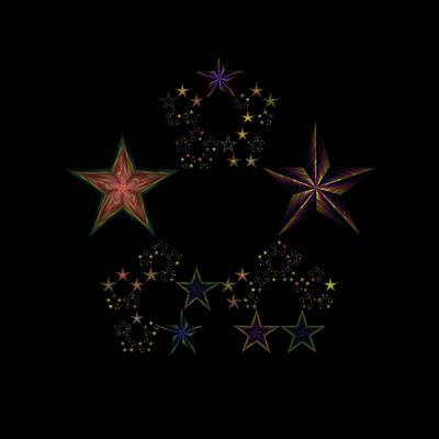 World Changing Digital Art - Star Of Stars 25 by Sora Neva