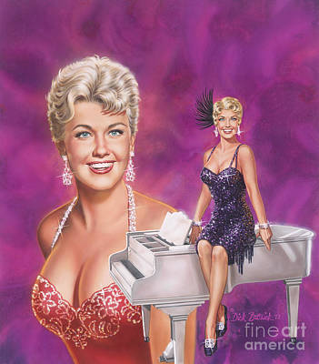 Painting - Star Of Stars - Doris Day by Dick Bobnick