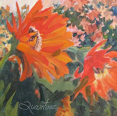 Painting - Star Of The Show by Lori Quarton