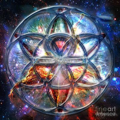Pleiades Digital Art - Star Seed by Mynzah Osiris