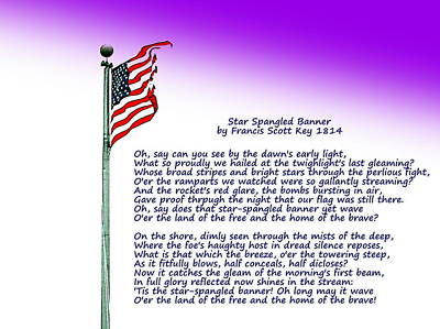 Photograph - Star Spangled Banner 1814 by Pamela Hyde Wilson