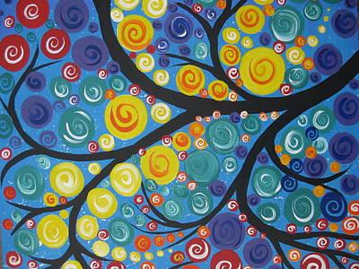 Star Tree Art Print
