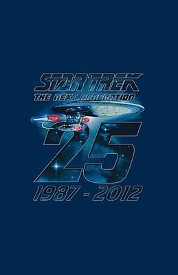 Enterprise Digital Art - Star Trek - Enterprise 25 by Brand A