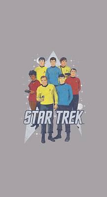 Show Digital Art - Star Trek - Here Here by Brand A