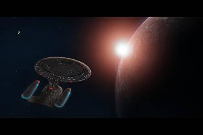 Star Trek Print by Ian Merton