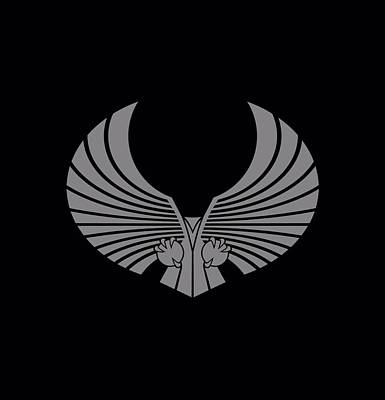 Star Trek Digital Art - Star Trek - Romulan Logo by Brand A