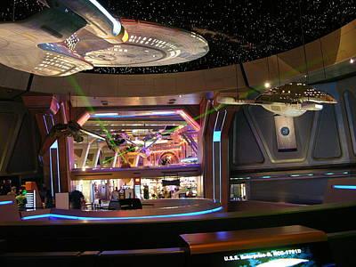 Klingon Wall Art - Photograph - Star Trek The Experience by Keith Stokes