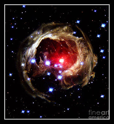 Photograph - Star V838 Mon Nasa by Rose Santuci-Sofranko