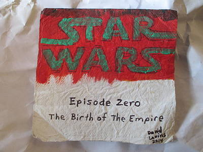 Star Wars - Episode Zero - Napkin Art Art Print