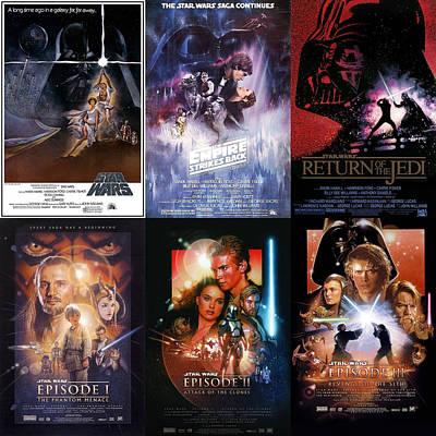 The Empire Strikes Back Digital Art - Star Wars  by Georgia Fowler