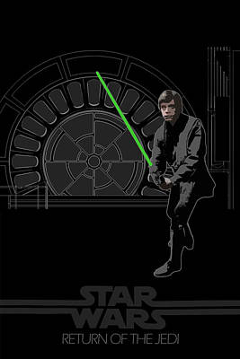 Skywalker Digital Art - Star Wars Original Trilogy Ep 6 by Edgar Ascensao