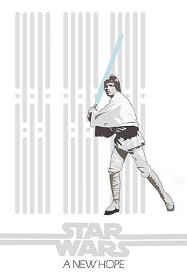 Skywalker Digital Art - Star Wars Original Trilogy Ep4 by Edgar Ascensao