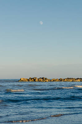 Moonrise At Sunset Photograph - Star Waves by Andrea Mazzocchetti