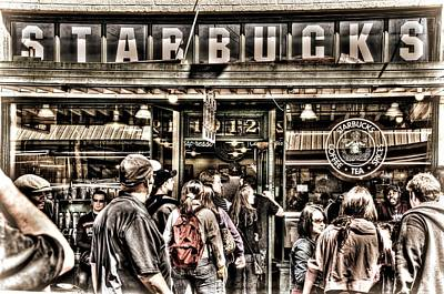 Photograph - Starbucks 1971 by Spencer McDonald