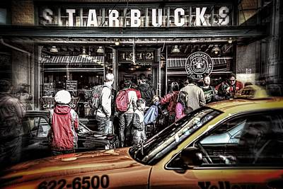 Photograph - Starbucks To Go by Spencer McDonald