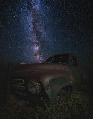 Stardust And Rust  Studebaker Art Print by Aaron J Groen