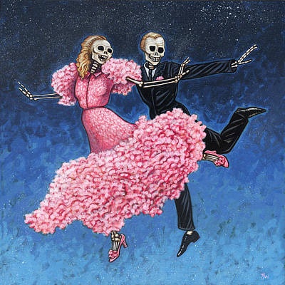 Ballroom Painting - Stardust by Holly Wood