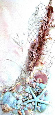 Mixed Media - Starfish Is The Star by Ashley Goforth
