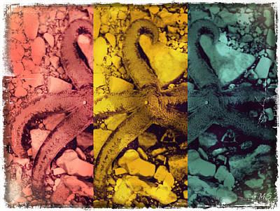 Starfish Kaleidoscope Art Print