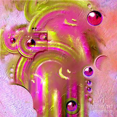 Digital Art - Stargate by Alexa Szlavics
