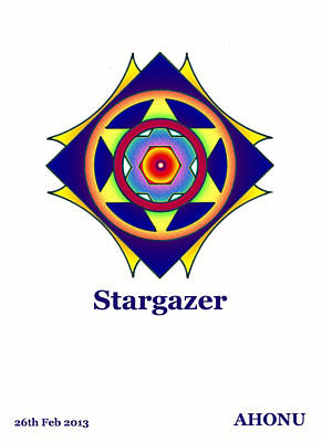Painting - Stargazer by Ahonu