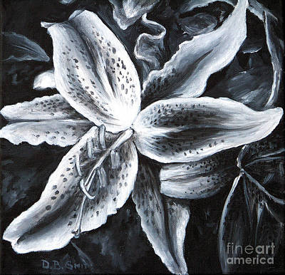 Stargazer Lilly Art Print