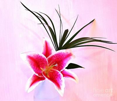 Stargazer Lilies Photograph - Stargazer by Marsha Heiken